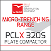 PCLX 'Streetworks' Plate Compactor
