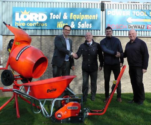 Altrad Belle presented awards to Lord Hire Centres