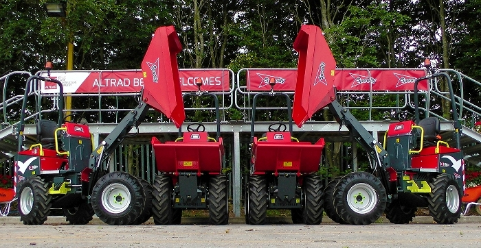 Speedy Hire PLC Approve & Purchase the New & Innovative Altrad Belle 1-Tonne Hi-Tip Dumper