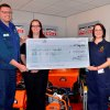 ALTRAD Belle raises �1000 for Flash and Longnor Community First Responders