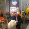 The Dulux Dog Visits ALTRAD Belle