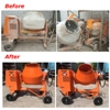 Some before and after pictures of the Service work carried out for GAPGroupHire on the Premier Mixer