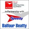 Altrad Belle with Speedy & Balfour Beatty