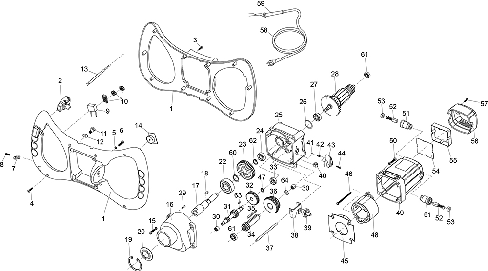 spare parts for belle mixers