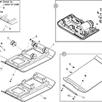 Baseplate Assembly <br />(PCLX 320 & 400)