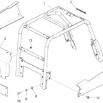 Frame Assembly <br />(From Serial No. 030508)