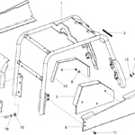 Frame Assembly <br />(Up To Serial No. 030507)