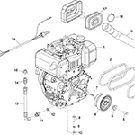 Yanmar L100N Engine Assembly
