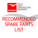RPC 45 Recommended Spare Parts List