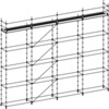 Facade Scaffold 3 Decks Without Access Decks