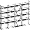 Facade Scaffold 3 Decks Complete With Access Decks image 0