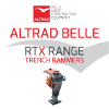 Altrad Belle RTX Trench Rammers